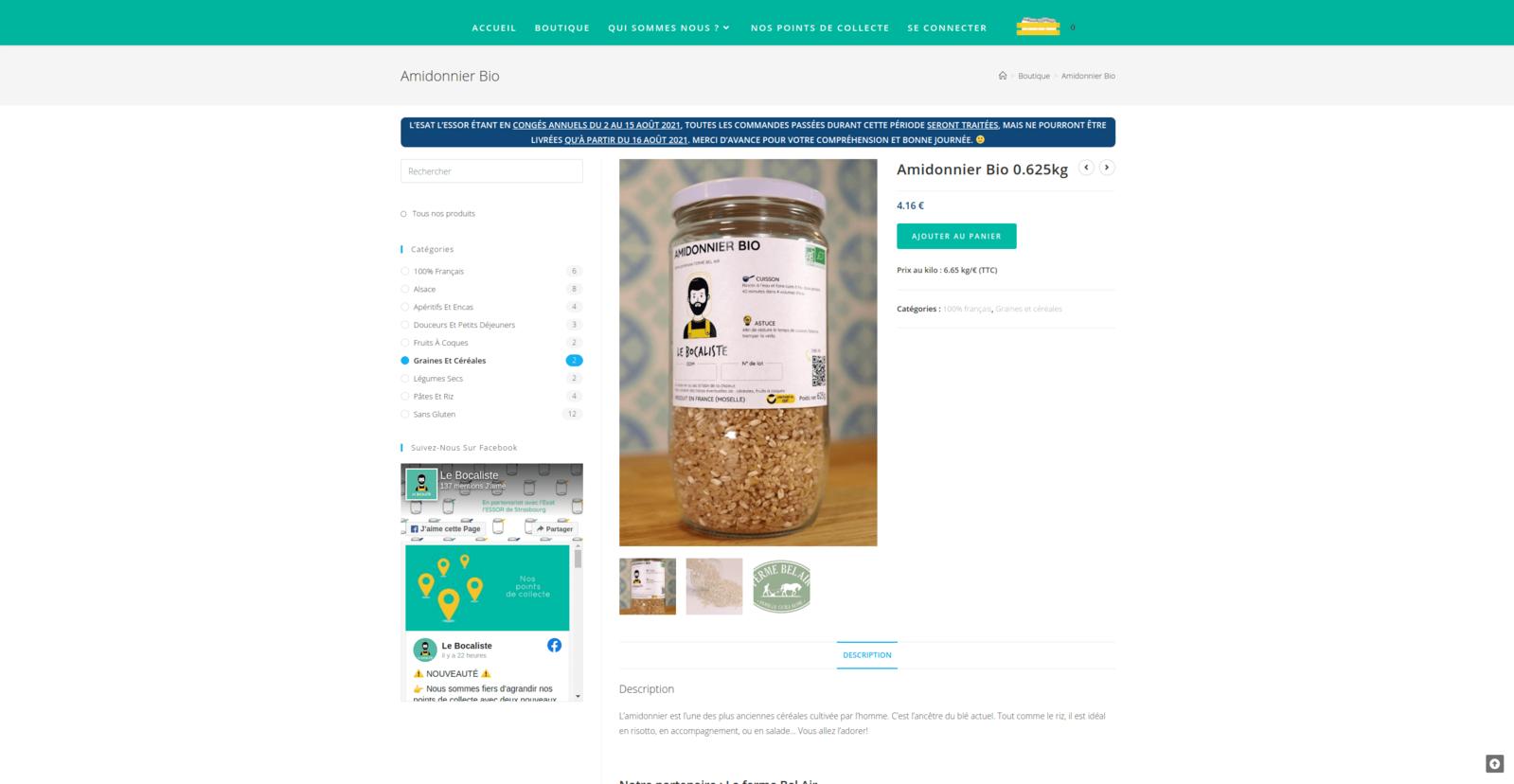 Le Bocaliste - Boutique en ligne de producteurs locaux