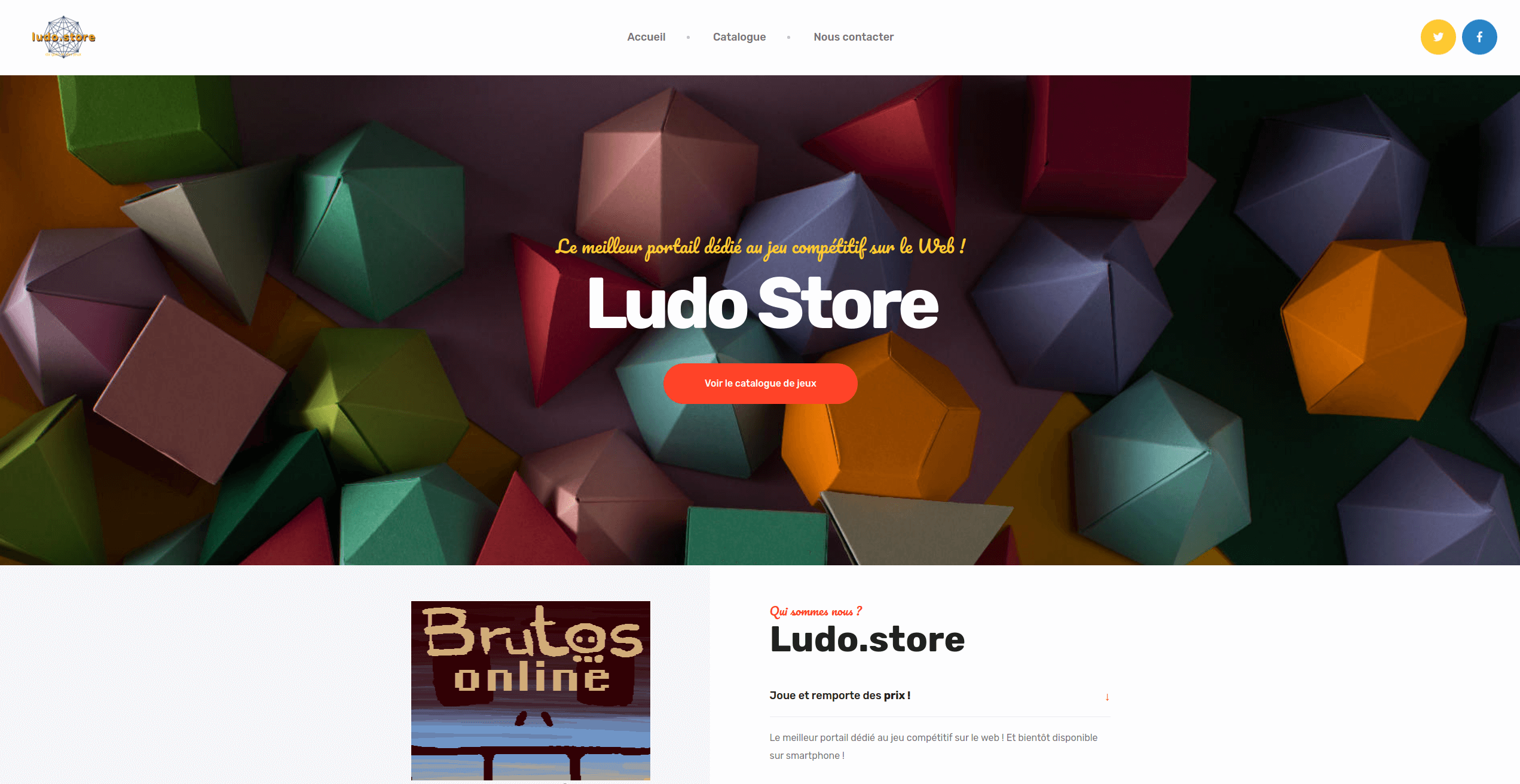 Gaudia Tech - Un portail dédié au jeu compétitif sur le Web !